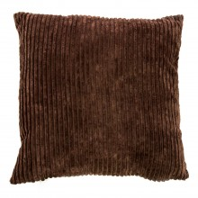 Casa Corduroy Cushion, Mocha