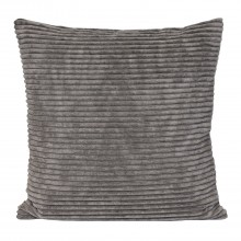 Casa Corduroy Cushion, Grey
