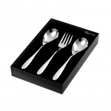 Robert Welch Stanton Serving Set (3 Piece), Stainless Steel