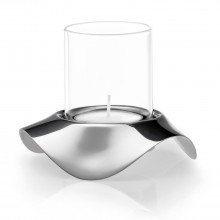 Robert Welch Drift Tealight Holder, Stainless Steel