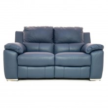 Casa Fiji 2 Seater Power Recliner Sofa, Ocean Blue