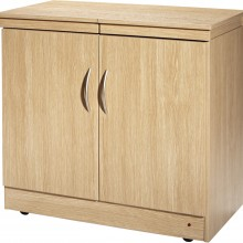 Hostess Trolly Wood Laminate In Lugano Oak