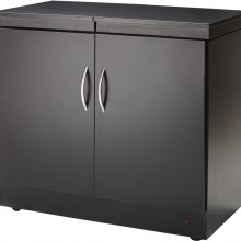 Hostess Trolly Wood Laminate In Black