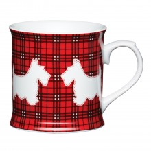 Kitchencraft Scottie Dog Tankard Mug, Red