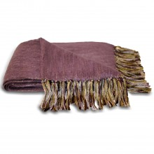 Riva Paoletti Chiltern Throw, Plum