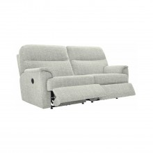 G Plan Watson 3 Seater Double Power Recliner Fabric Sofa