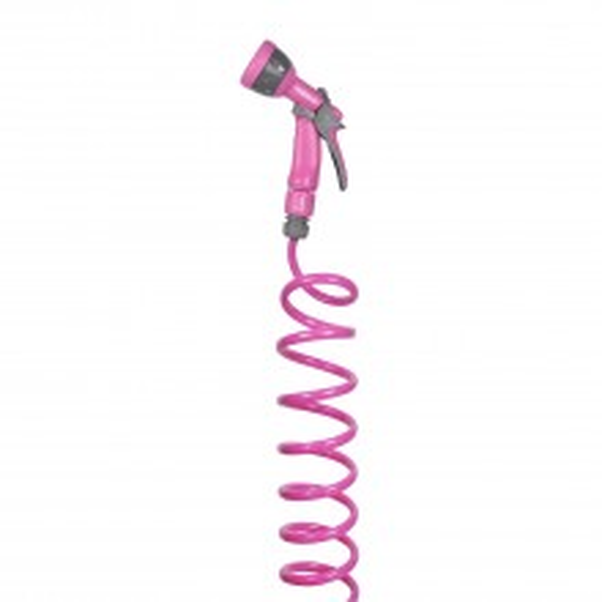 Hozelock 15m Spiral Hose Starter Set, Pink