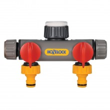 Hozelock 2 Way Tap Connector