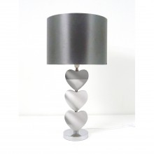 Casa Rhea Heart Table Lamp, Mirror
