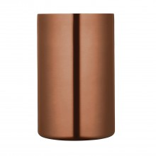 Luxe Lounge Double Walled Copper Finish Wine Cooler
