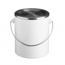 Typhoon Hudson White Compost Caddy