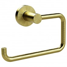 Miller From Sweden Toilet Roll Holder, Lacquered Brass