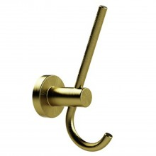 Miller From Sweden Double Hook, Lacquered Brass