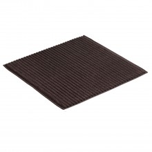 Vossen High Line Shower Mat, Brown