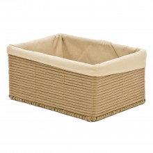 Casa Rectangular Basket Large, Brown