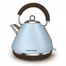 Morphy Richards Pyramid Premium Kettle, Azure