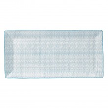 Royal Doulton Herringbone Rectangle Tray, 39cm