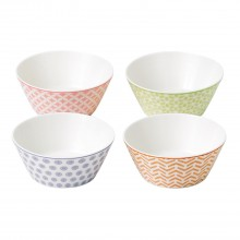 Royal Doulton Accent Set Of 4 Bowls, 11cm