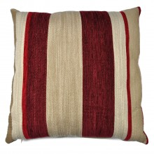Mason Grey Aspen Cushion, Red
