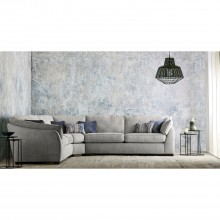 Casa Halley Corner Fabric Sofa, Large