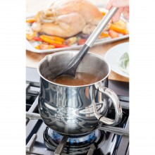 Stellar 1000 Milk/Sauce Pot, Stainless Steel