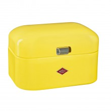 Wesco Single Grandy Bread Bin, Lemon Yellow