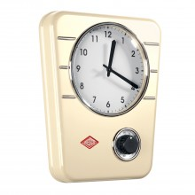 Wesco Kitchen Clock/timer, Almond