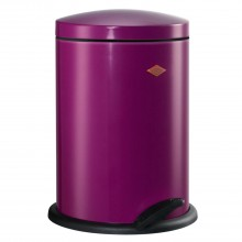 Wesco 13 Litre Pedal Bin, Purple