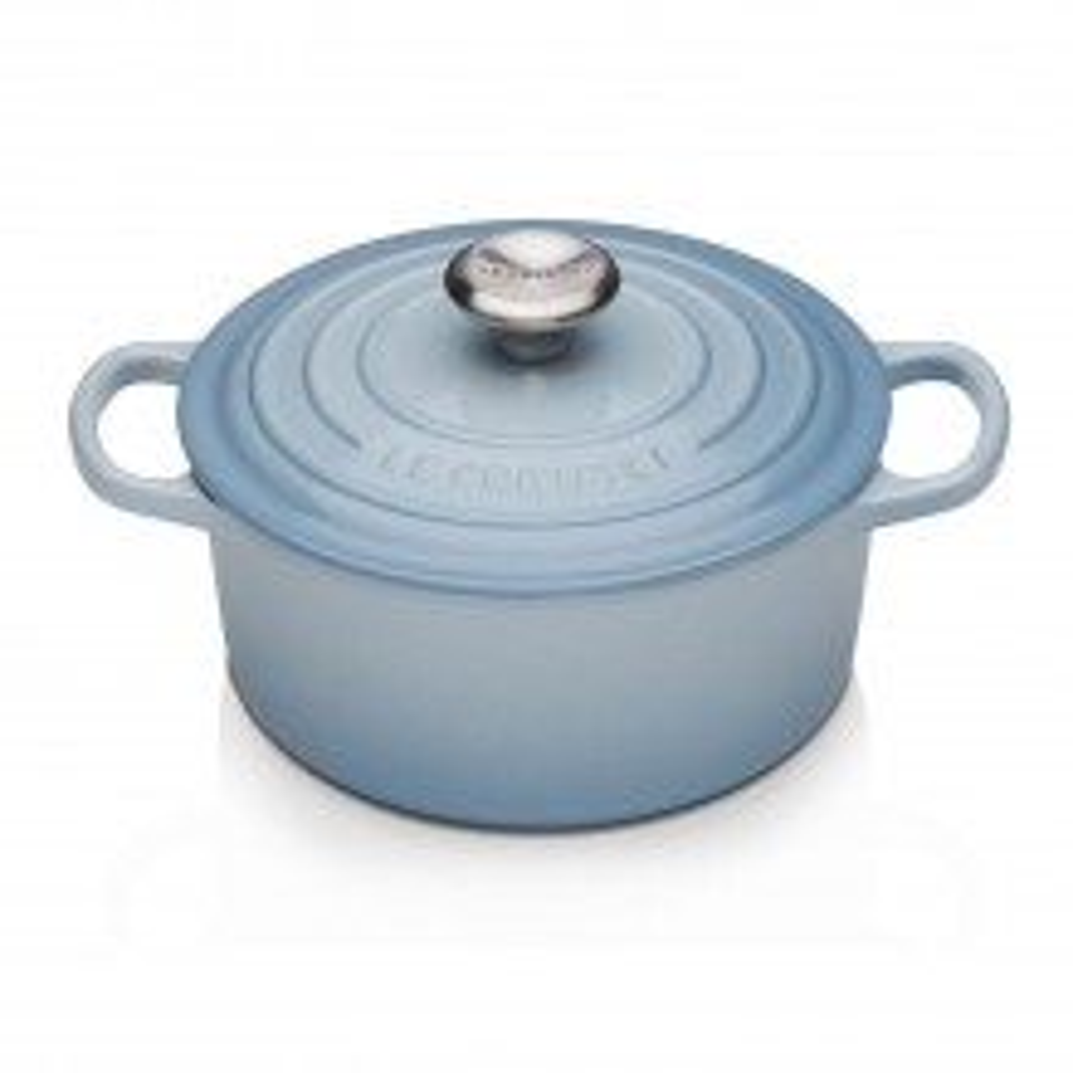 Le Creuset Cast Iron Round Casserole 18cm, Coastal Blue