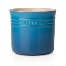 Le Creuset Small Utensil Jar, Marseille Blue