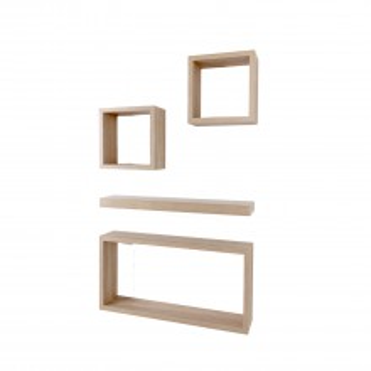 Core Products Hudson Oak Shelf Set of 4