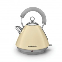 Morphy Richards Pyramid Kettle Cream