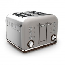 Morphy Richards Accents 4 Slice Toaster, Pebble