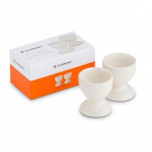 Le Creuset Set Of 2 Egg Cups, Almond