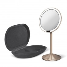 Simplehuman 20cm Sensor Mirror Trio View Brushed Steel Le