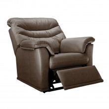 G Plan Malvern 17 Manual Recliner Leather Armchair