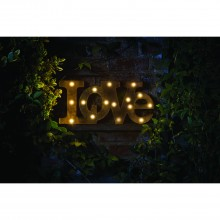 Smart Garden Lumieres - Love, Brown/black