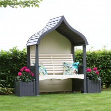 AFK Orchard Arbour, Charcoal/Cream
