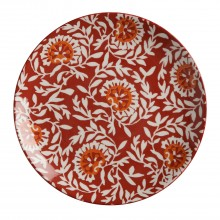 Maxwell & Williams Boho Plate Damask Red 20cm