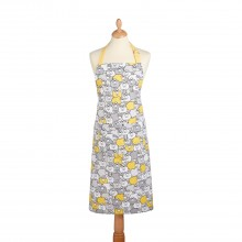 Sheep Apron, Yellow/Grey