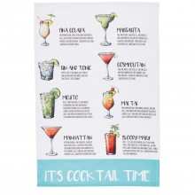 2 Pack Cocktail Tea Towels