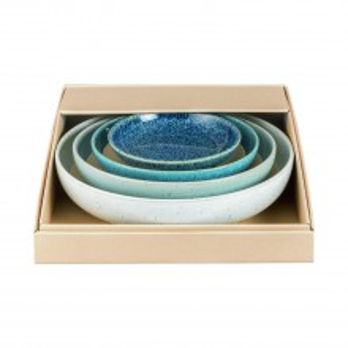Denby Studio Blue Nesting Bowl, Set of 4