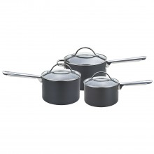 Anolon Professional 3 Piece Pan Set, Black