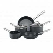 Anolon Professional 5 Piece Pan Set, Black