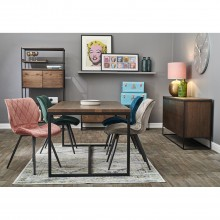 Casa Brisbane Table & 4 Chairs Dining Set
