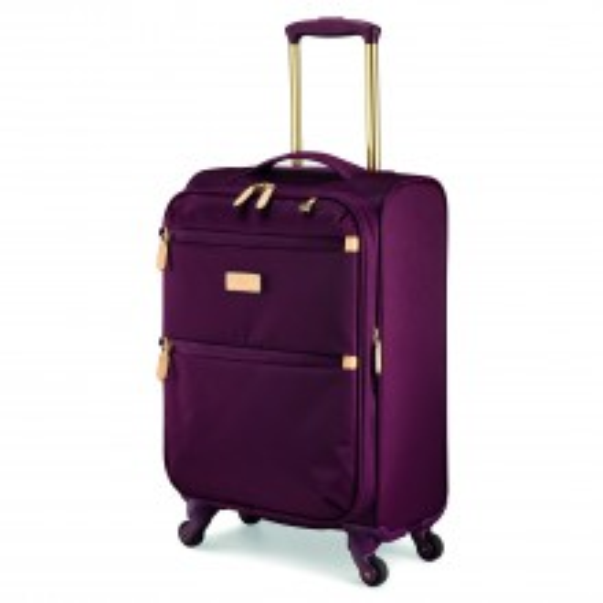 Radley Travel Essentials 4 Wheel Suitcase Small, Burgundy