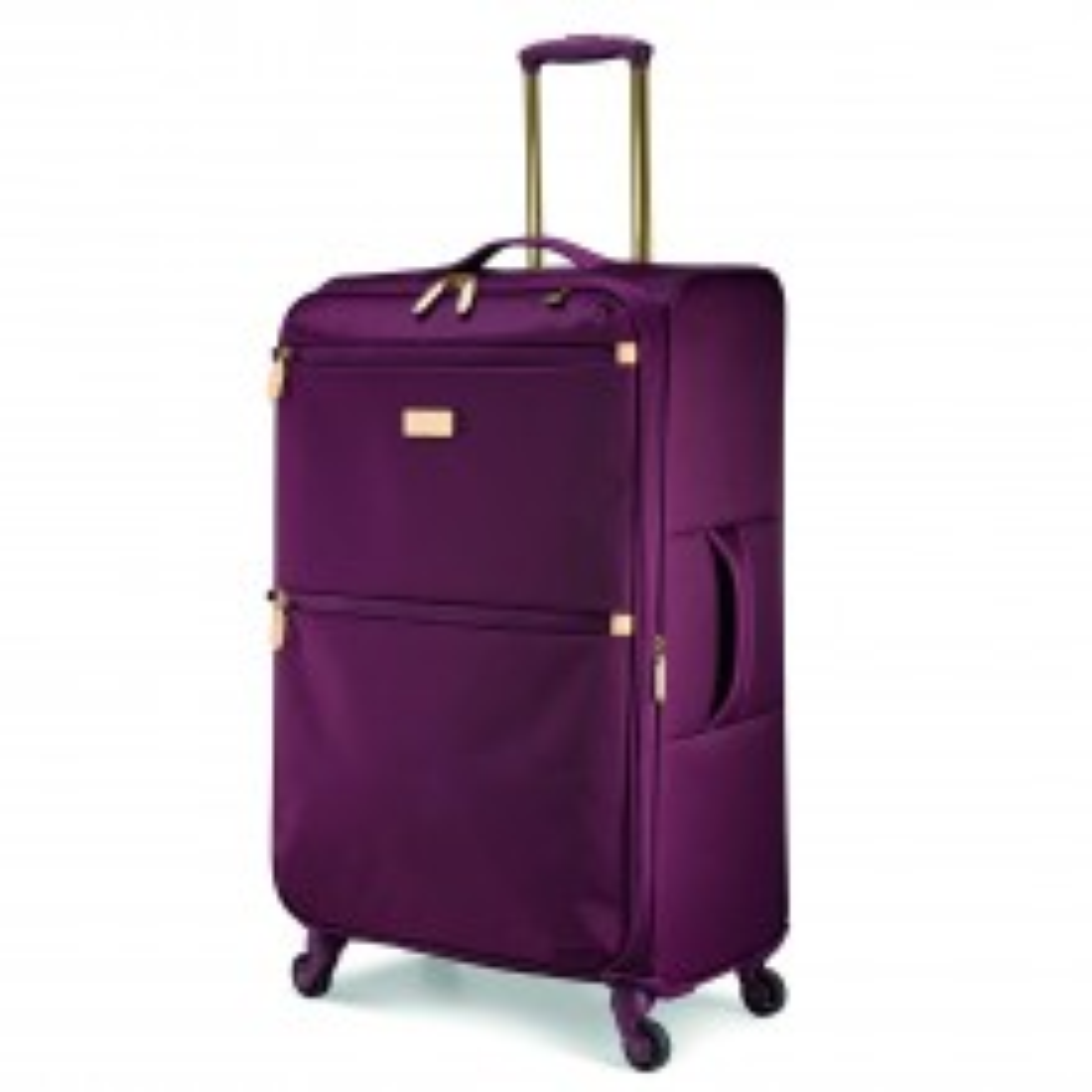 Radley Travel Essentials 4 Wheel Suitcase Large, Burgundy