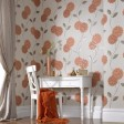 Superfresco Colours Pippa Orange Wallpaper
