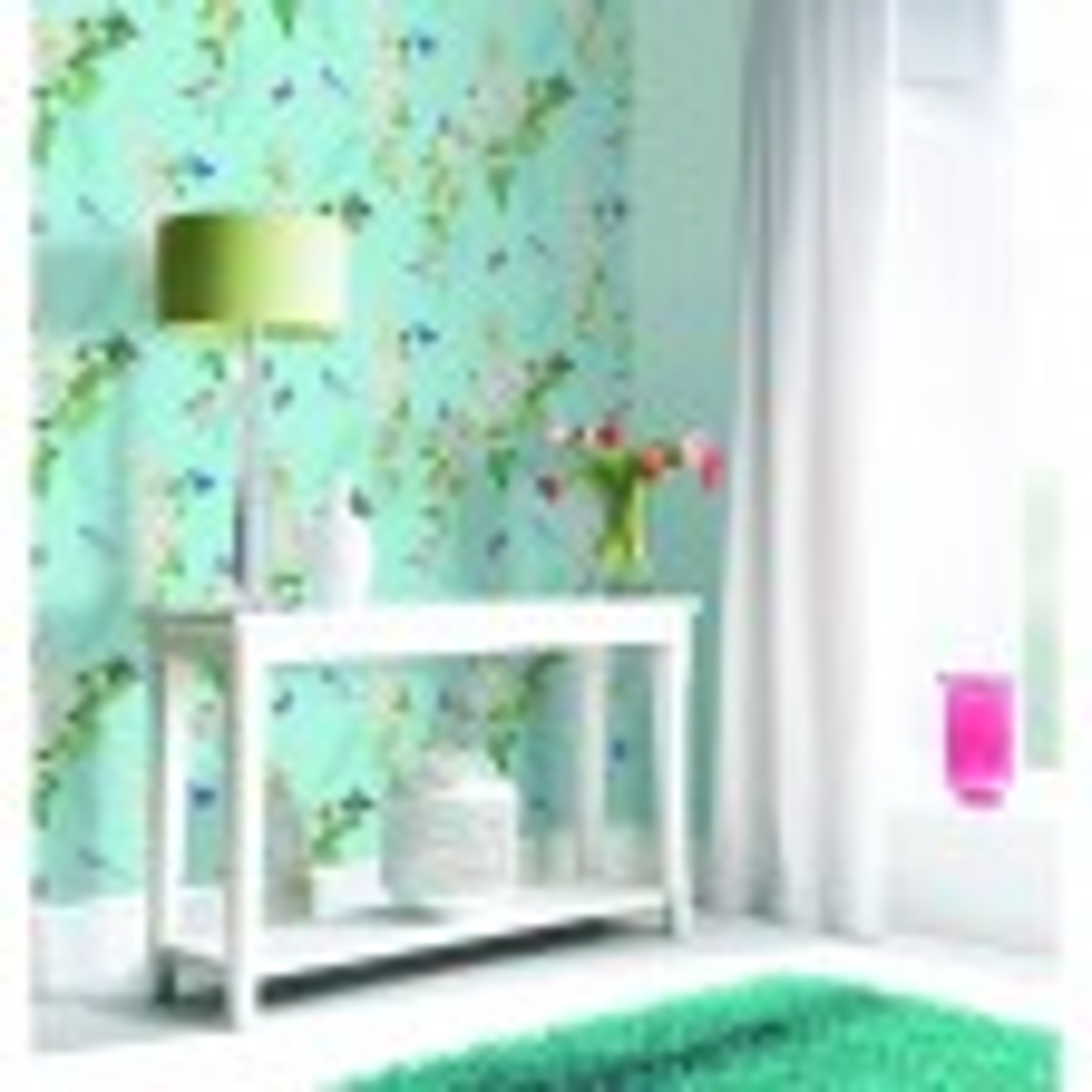 Arthouse Mitzu Wallpaper 1000x50cm, Duck Egg