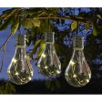 Smart Garden Eureka! Solar Lightbulbs, Warm White